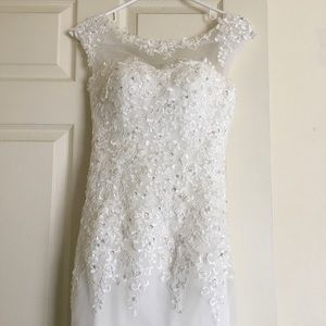 Dresses & Skirts - White mermaid wedding dress